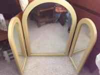 Dressing table mirror x3