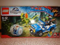 Lego Jurassic World - Dilophosaurus Ambush 75916.