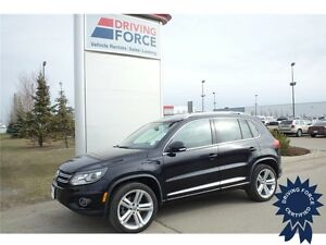 2015 Volkswagen Tiguan R-line All Wheel Drive, 23,123 KMs