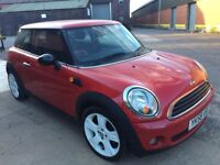 Mini one 1.4 petrol. 12 month MOT. Timing belt done including a service at a cost of £900 receipts