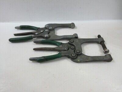Sheet Metal Welding Clamps Load Cap. 700lbs Throat Depth 2-14 Lot Of 2
