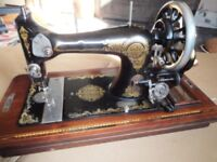 Rare Hand-Cranked 1950s Sewing Machine Bristol made by A.G Payne.