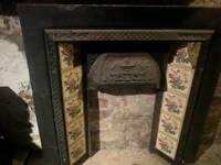 Ornate fire surround