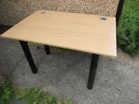 Large Desk Top in Oak Effect Finish