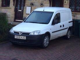 Vauxhall 1.3 CDTI Combo van 2010 White