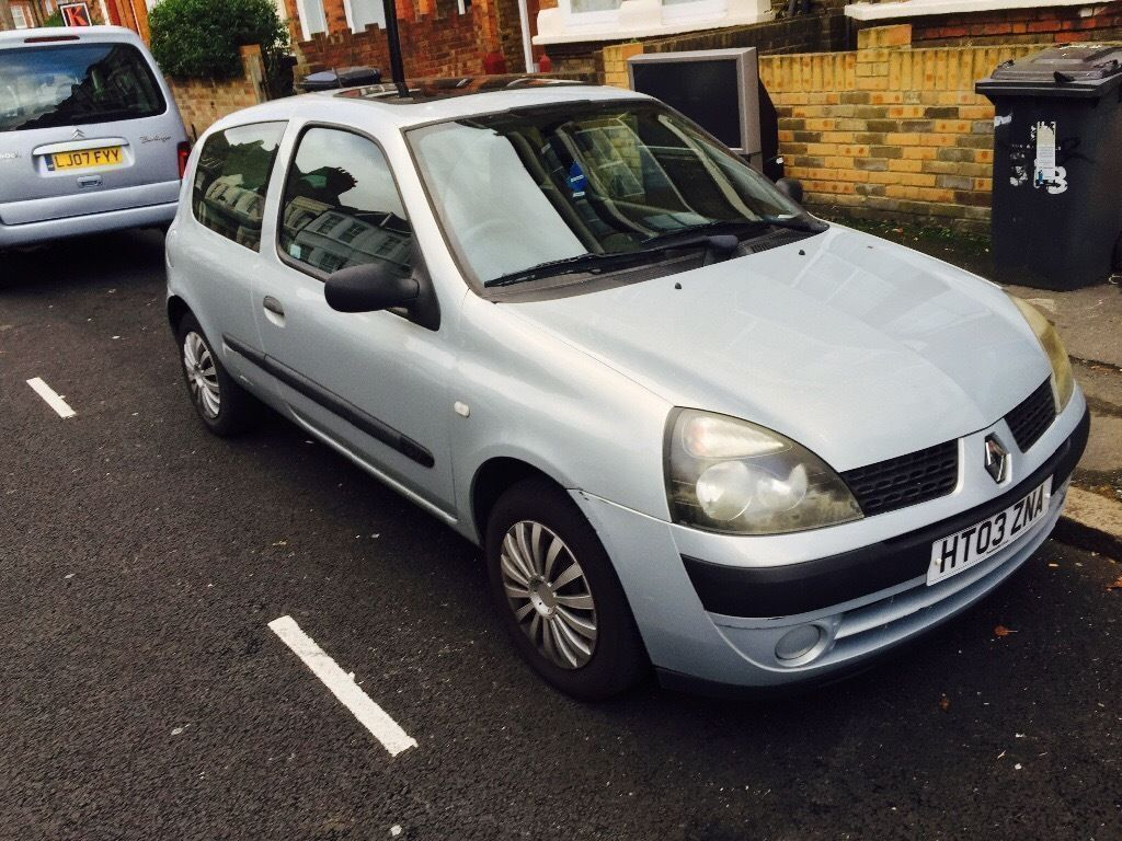 2003 RENAULT CLIO 1.2 16v EXPRESSION*MOT TILL JANUARY 2017*3 MONTHS WARRANTY*MUST GO TODAY*206*MICRA