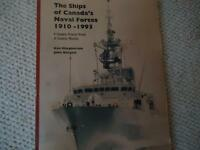 The Ships of Canada's Naval Forces 1910-1993