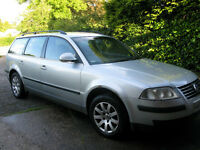 VW Passat Diesel Estate 1.9S TDI 100 5 dr, reliable, fuel efficient. £799