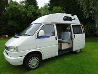 For sale is my vw transporter hi top campervan.