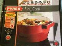 Pyrex ceramic slow cooker casserole