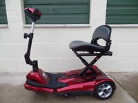 Mobility Scooter Drive Auto-Fold-Up Easy-Move 3 Wheel 4mph, Car Boot scooter