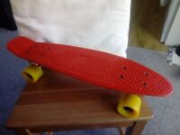 Red Shortboard 55cm