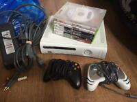 Xbox 360 games consoles Controllers Cables Fully Working