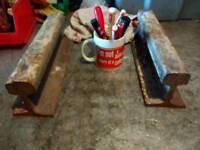 Railway line potential envils blacksmith vice