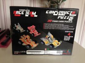 Brand new! Race Team construction puzzle!