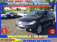 2006 Nissan Murano SL AWD* $51 PER WEEK WITH NO DOWNPAYMENT!