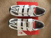 Specialized lock in shoes, size 44