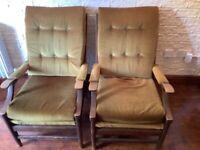 2 x Cintique Chairs
