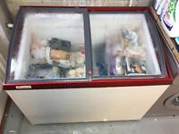 Chest Freezer Glass Top, full working order, good condition