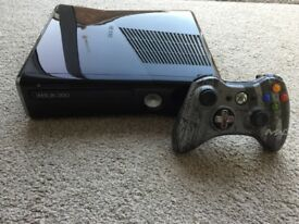 Xbox 360 250gb Slim with Controller and Play and Charge Kit