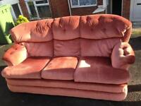 Super 3 seater sofa and 2 armchairs