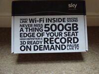 Sky HD+ Box 500Gb With Remote control