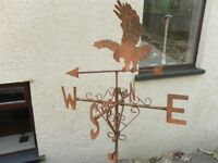 Old Weather Vane, Bird of prey.