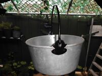 Vintage Aluminium Maslin Pan