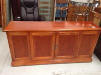 Chest of draws. Cherry red wood. Used condition. £35