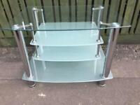 TV Table glass