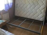 Double beds with mattress's sell as a pair or single