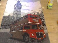 London design rug..140cms x160cms