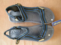 Mens Surf Attack Sport Velcro Sandals Size 12 *Brand New*