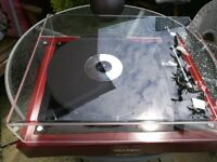 Thorens td166 modified turntable