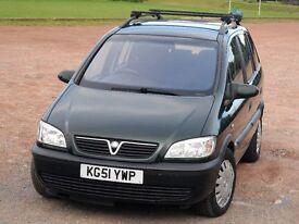 Vauxhall Zafira 1.6 i 16v Comfort 5dr (a/c) + MOT & TAXED