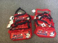 New with tags Minnie Mouse bags