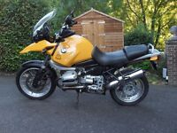 BMW R1150GS 1999 ONE PREVIOUS OWNER excellent well maintained example