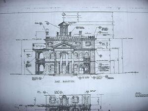 Disneyland blueprints contemporary 1968 now ebay for Haunted mansion blueprints