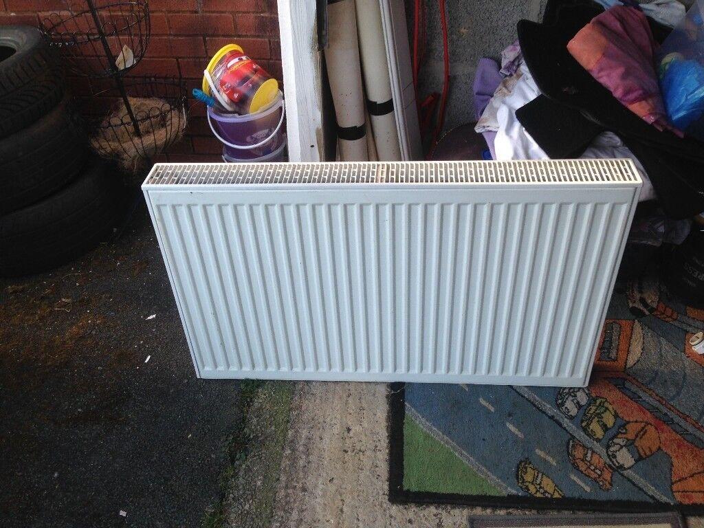 Double radiator white | in Plymouth, Devon | Gumtree