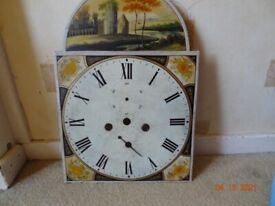 scottish grandfather clock dial