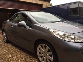 Peugeot 207 CC HDI GT full leather with white stitching tinted glass paaid full electric pack