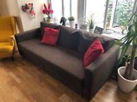 IKEA Three-seat sofa-bed