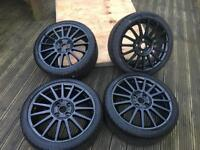 Ford Focus ST170 alloys, new tyres