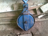 Ansell Jones Pulley used