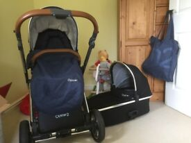 Oyster 2 carrycot & pushchair *used