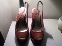 Holly Willoughby Leather Shoes Size 5