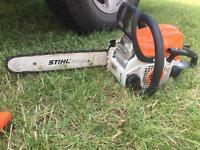 Ms180 stihl chain saw