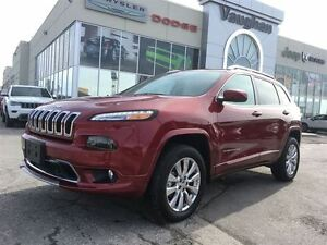 2016 Jeep Cherokee Overland 4x4 * Only 6129 kms !! 3.2L V6