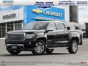 2016 GMC Canyon Crew 4x4 SLT / Short Box ONE OWNER AND IN GREAT