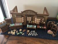 SYLVANIAN FAMILY VILLAGE STORE- VINTAGE- 1988-92 EXCELLENT CONDITION